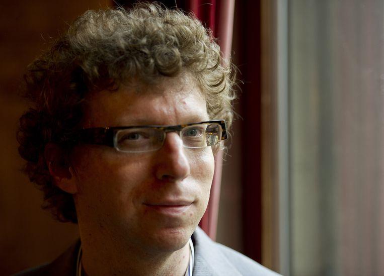 Schrijver Arnon Grunberg is een van de kanshebbers voor de Libris Literatuur Prijs. Beeld ANP