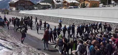 Frankrijk versterkt grenzen na incidenten in de Alpen