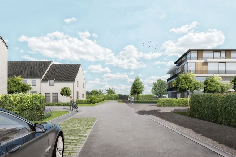 Met het project Patmoes realiseert Ipon een nieuwe woonwijk in Lebbeke.