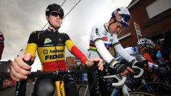 LIVE WB VELDRIJDEN. Zet Belgisch kampioen Aerts in Ponchâteau een cruciale stap richting eindwinst?