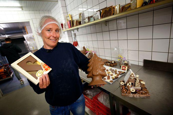 Melanie van Tilborg is al volop bezig voor sint en kerst.