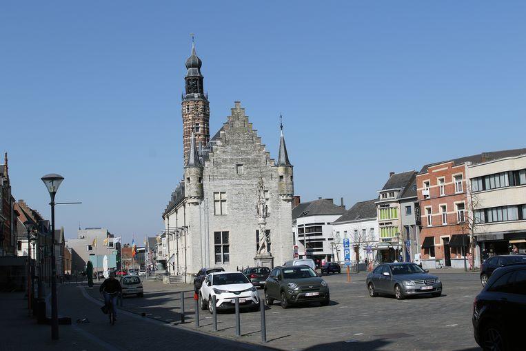 De Grote Markt van Herentals.