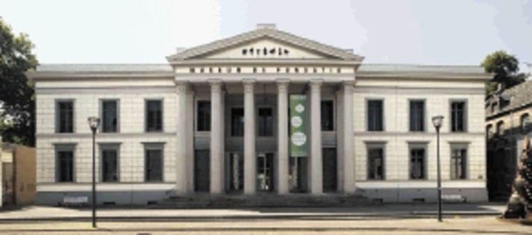 Het museumgebouw in het centrum van Zwolle. (Trouw) Beeld