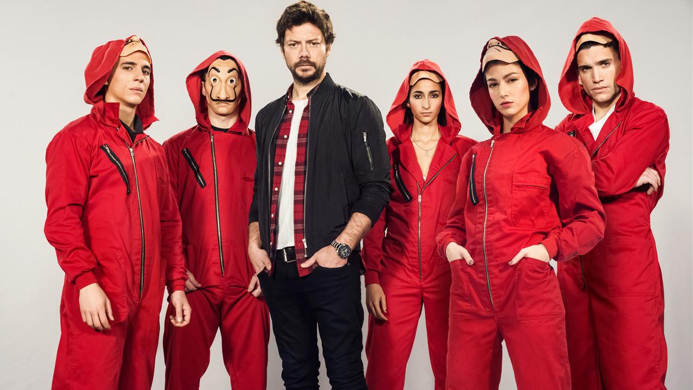De cast van 'La Casa de Papel'