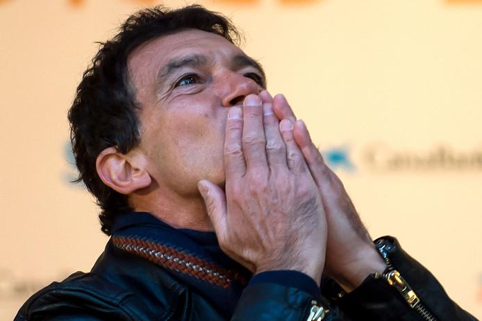 Antonio Banderas à l'inauguration