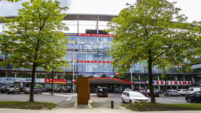Stadion Galgenwaard van FC Utrecht.