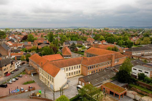 De Vroonhofsite gezien vanop de Sint-Bertinuskerk.