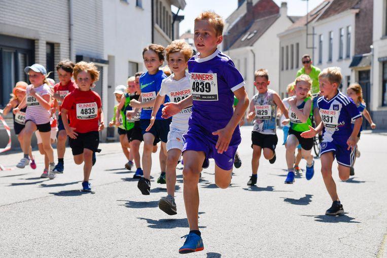Kinderen tot en met 10 jaar kunnen dit weekend deelnemen aan de Vierschaarloop.