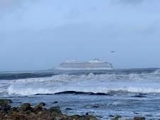 Cruiseschip met 1300 passagiers in nood voor Noorse kust