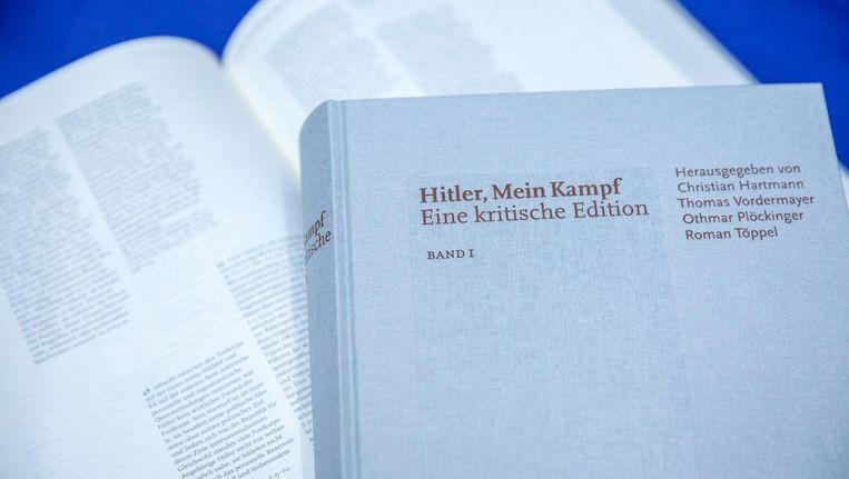 In Duitsland verscheen dit jaar al een heruitgave met toelichting van Mein Kampf. Beeld epa