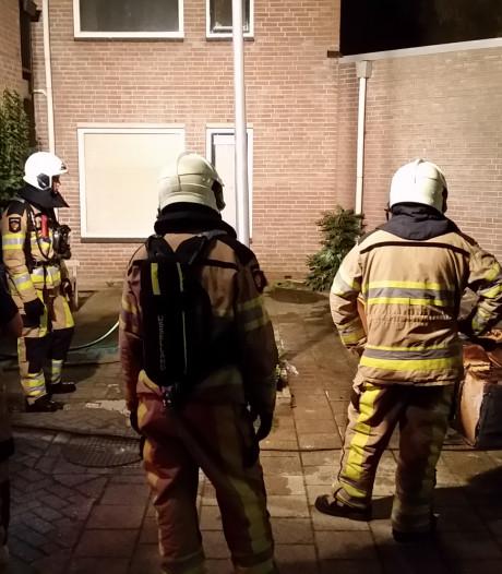 Brand aan Moerbeistraat in Zwolle