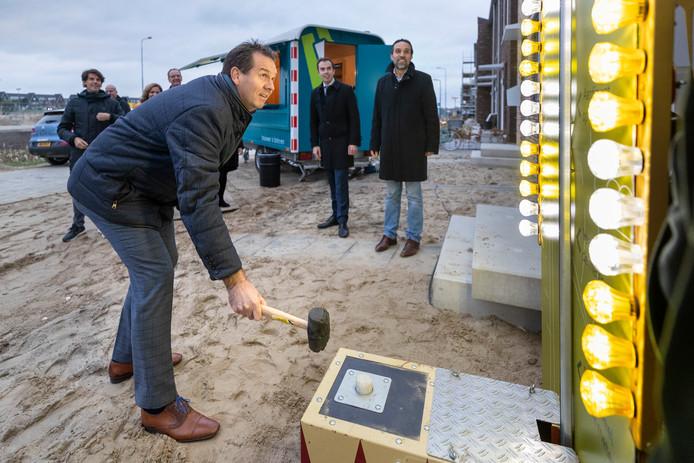 Marc Hoedemakers van het gelijknamige bouwbedrijf slaat de meter op nul in de Lanen.