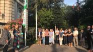 Ook Destelbergen hijst de vredesvlag van Majors For Peace