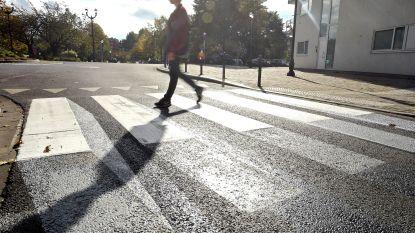 Alleen in Portugal en Italië sterven er meer voetgangers in het verkeer dan in België