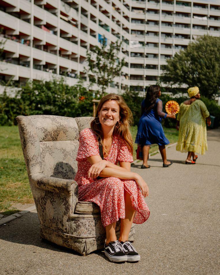 Hannah Bakx: 'Het begon met doe-, kijk-, lees- en luistertips voor vrienden en familie.'  Beeld Desiré van den Berg