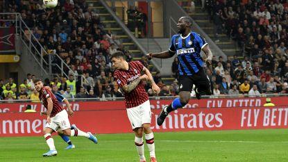 """Lukaku na zijn goal in de Milanese derby: """"Maar mijn pa kon beter koppen dan ik"""""""