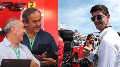 Onze F1-watcher in Frankrijk slaat een praatje met Courtois en merkt opvallende gast op