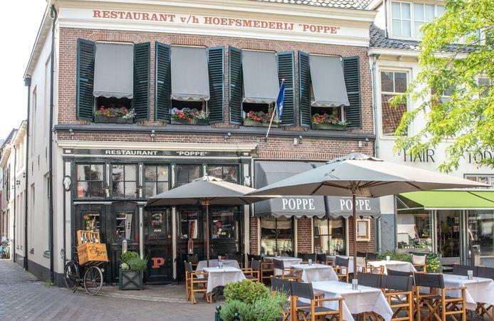 Zwolle Restaurant Poppe in de Luttekestraat.