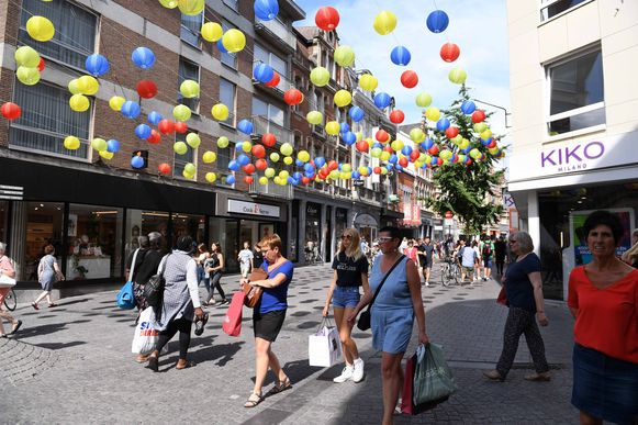 De leegstand in Leuven valt nog goed mee in vergelijking met de meeste andere centrumsteden.