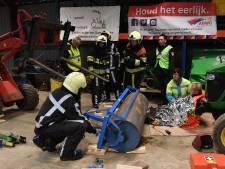 112-doemscenario in Beugen met goede afloop