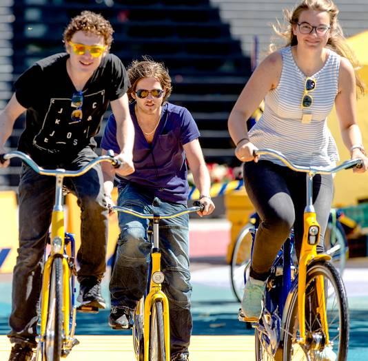 'Beloon fietsende werknemers', een van de suggesties van Natuur en Milieufederatie aan Utrechtse gemeenten.