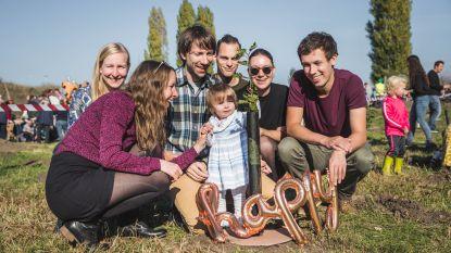 Tiende geboortebos eert 1.027 Gentenaartjes