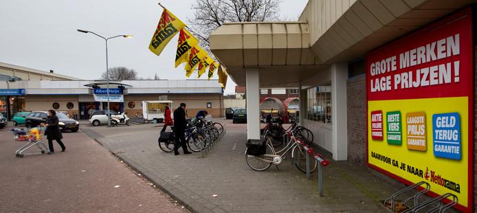 Albert Heijn en Nettorama aan de Gruttostraat.