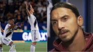 """He strikes again: Zlatan boort rivaal de grond in en maakt weergaloze hattrick: """"Ik ben een Ferrari in een competitie vol Fiats"""""""