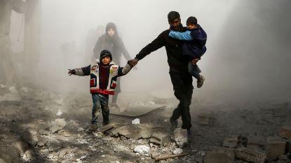 Erdogan, Poetin en Rohani overleggen in Istanboel na nieuw geweld in Syrië met 22 burgerdoden