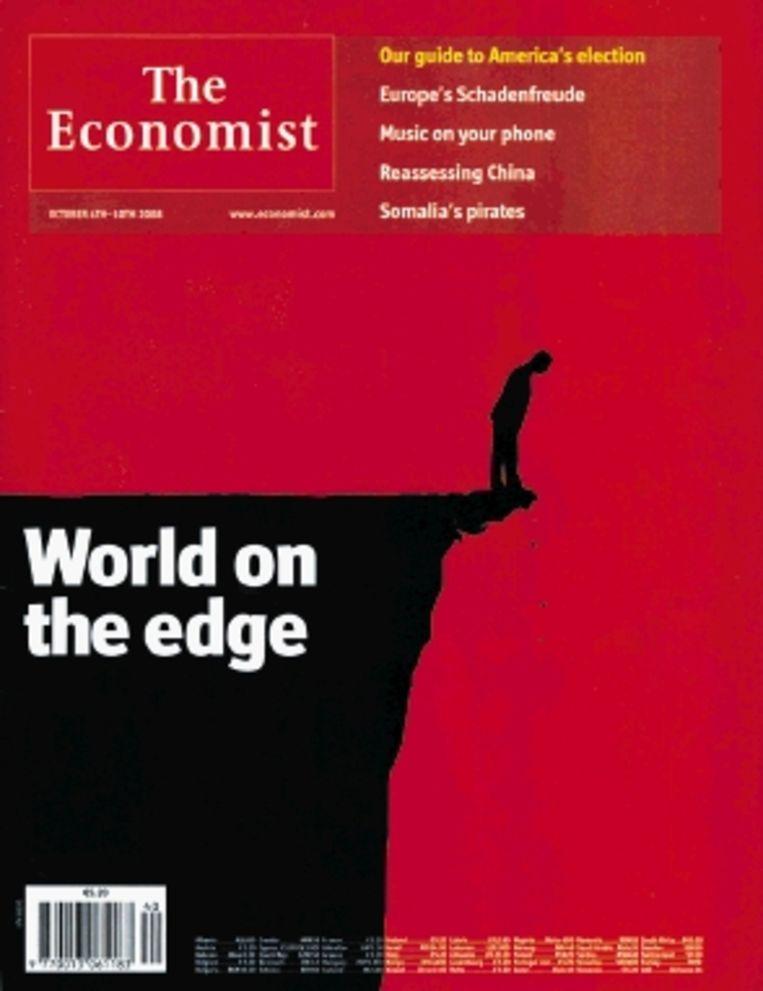 Piraten en muziekpiraterij in The Economist. (Trouw) Beeld