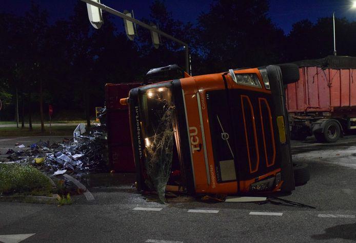 De hulpdiensten zijn maandagochtend uitgerukt voor een aanrijding letsel op de Bedrijvenweg te Doetinchem.