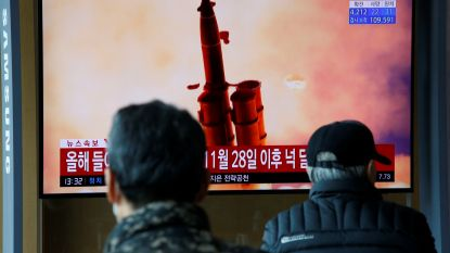 Noord-Korea lanceert opnieuw drie projectielen