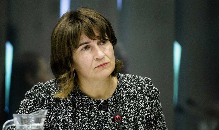 Minister Lilianne Ploumen van Buitenlandse Handel en Ontwikkelingssamenwerking. Beeld anp