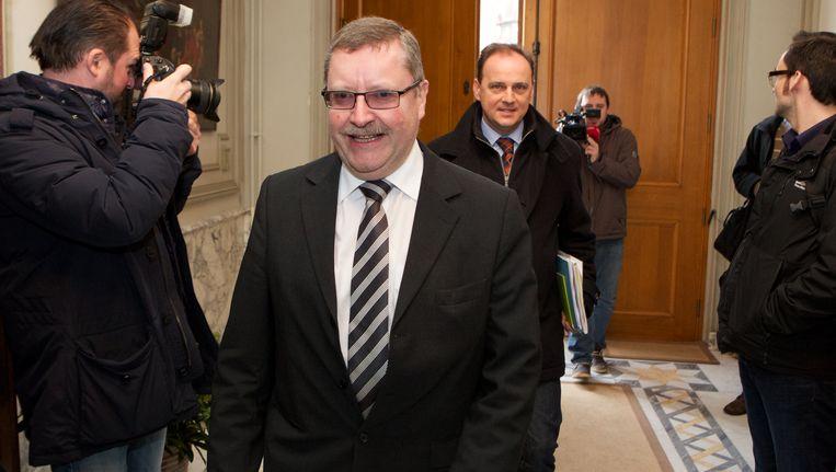 Burgemeester van Denderleeuw Jan De Dier.