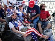 Donald Trump trapt af voor tweede termijn