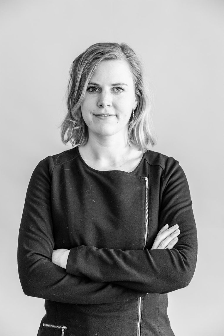 Raadslid voor Groenlinks, Portefeuille Wonen en Bouwen, Dorrit de Jong. Beeld Tammy van Nerum