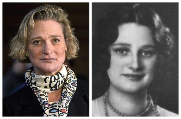 Delphine lijkt sprekend op koningin Astrid (1905-1935), de moeder van koning Albert II.