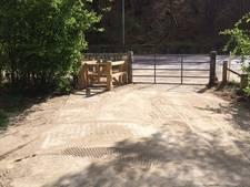 Fietsonvriendelijk poortje bij Wylerbergmeer blijft staan