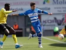 Yuta Nakayama (PEC Zwolle) staat voor debuut in Japanse selectie op Copa America