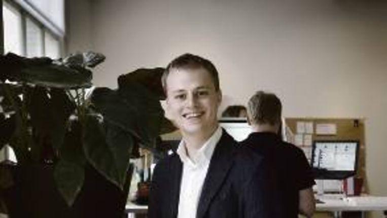 Sander Koppelaar van Next2News Beeld