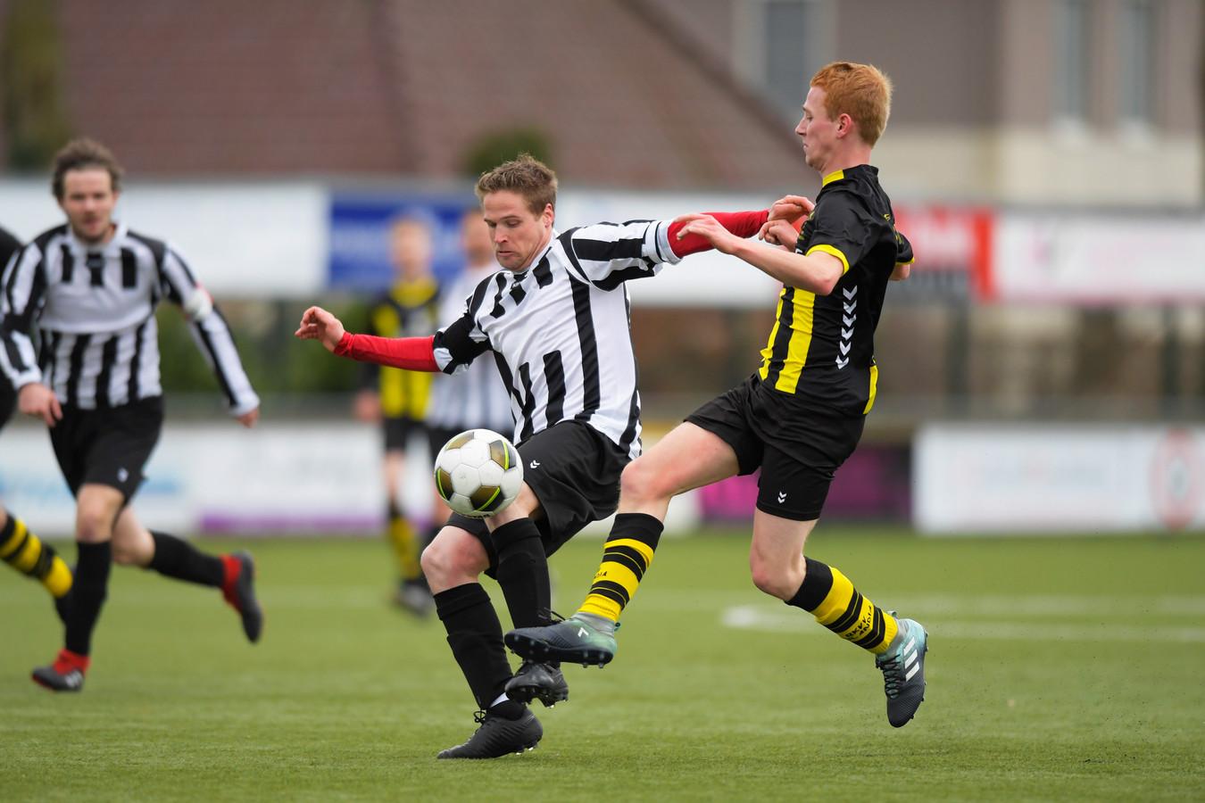 L-R Peter Versantvoort (DVG), Teun van der Sangen (Nulandia)