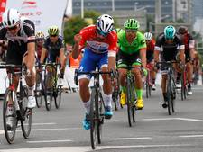 Gaviria is sneller dan Wippert in China
