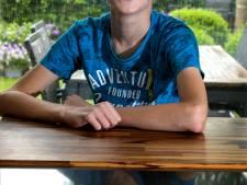Stijn (15) uit Aarle-Rixtel tussen topsprekers van Google en Nike