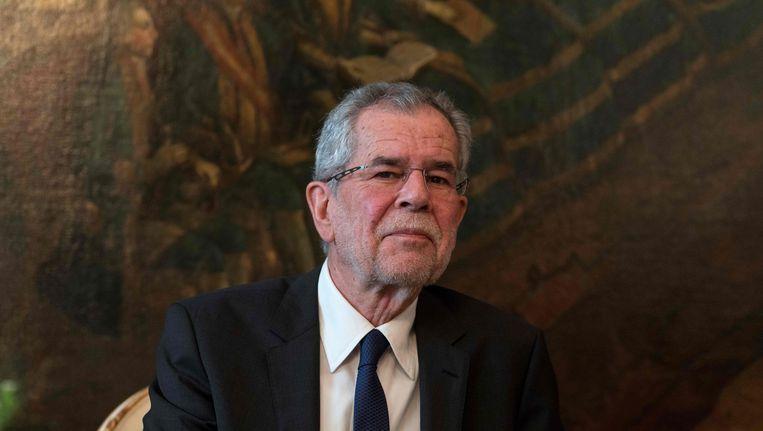 Alexander Van der Bellen: toch niet tot president verkozen Beeld AFP