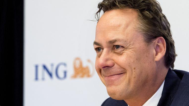 Het salaris van ING-topman Ralph Hamers is 1,6 miljoen euro, onthulde hij bij Nieuwsuur. Beeld anp