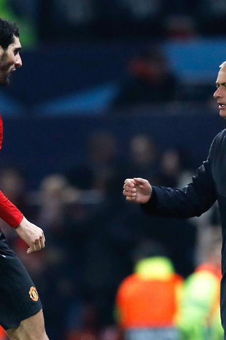 """Le message de Fellaini à Mourinho: """"Quelqu'un de spécial pour moi"""""""