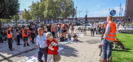 Massale opkomst blijft uit: tientallen krakers bij  gemoedelijk protest in Nijmegen