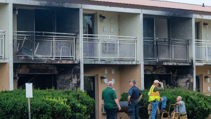 Moeder en vijf kinderen komen om bij brand in motel