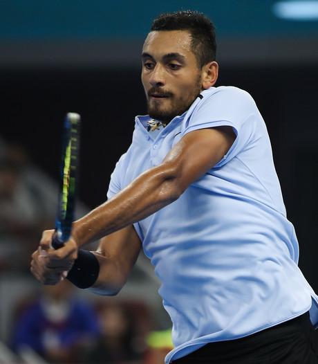 'Bad Boy' Kyrgios naar Ahoy, Federer niet
