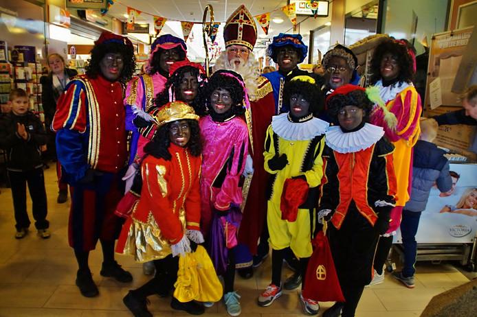 Sinterklaas in Zuidland.